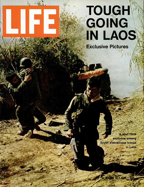 LIFE magazine, 12 Mar 1971 - TOUGH GOING IN LAOS - Exclusive Pictures