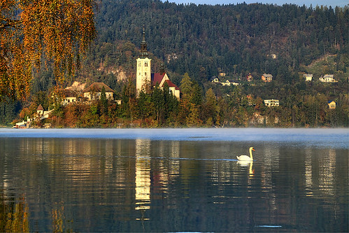 lake alps slovenia bled slovenija slovenie
