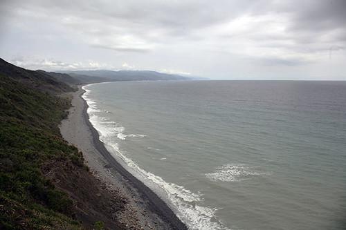 阿朗壹礫石沙灘。攝影:朱雲瑋