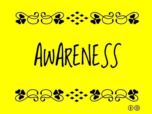 Buzzword Bingo: Awareness