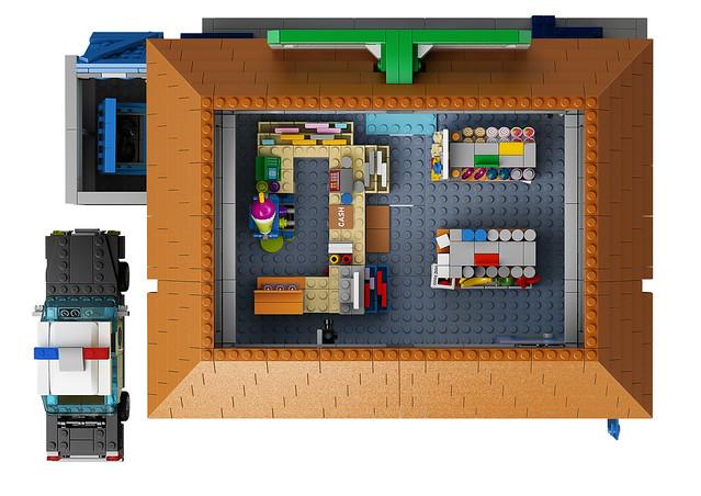 LEGO The Simpsons 71016 - The Kwik-E-Mart