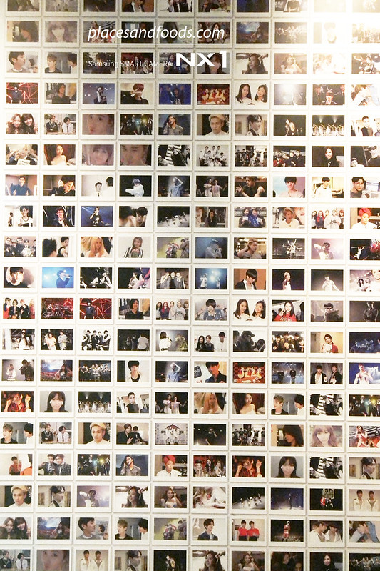 smtown at coexartium photo wall