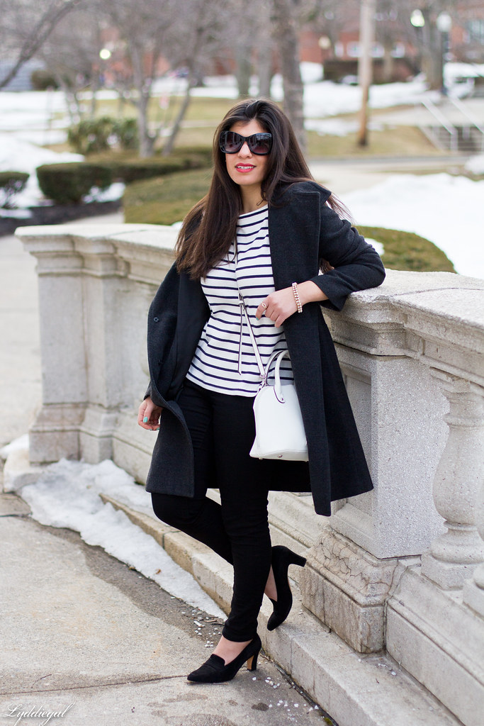 striped shirt, black pants, ferragamo pumps-4.jpg