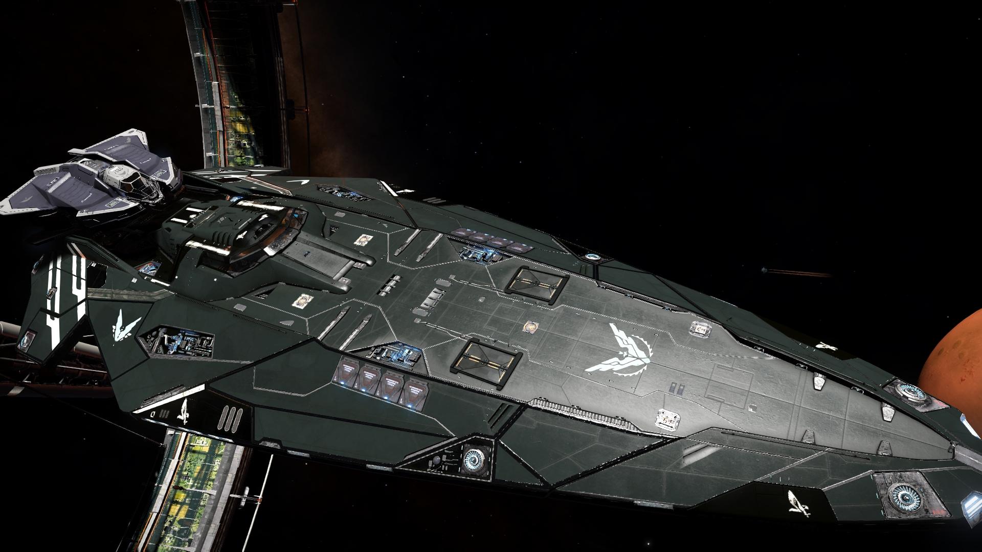 Anaconda And Vulture Size Comparison Elitedangerous