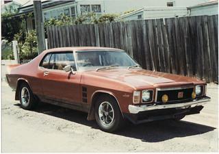 Holden HJ Monaro GTS  c.1974-76 (Australia)