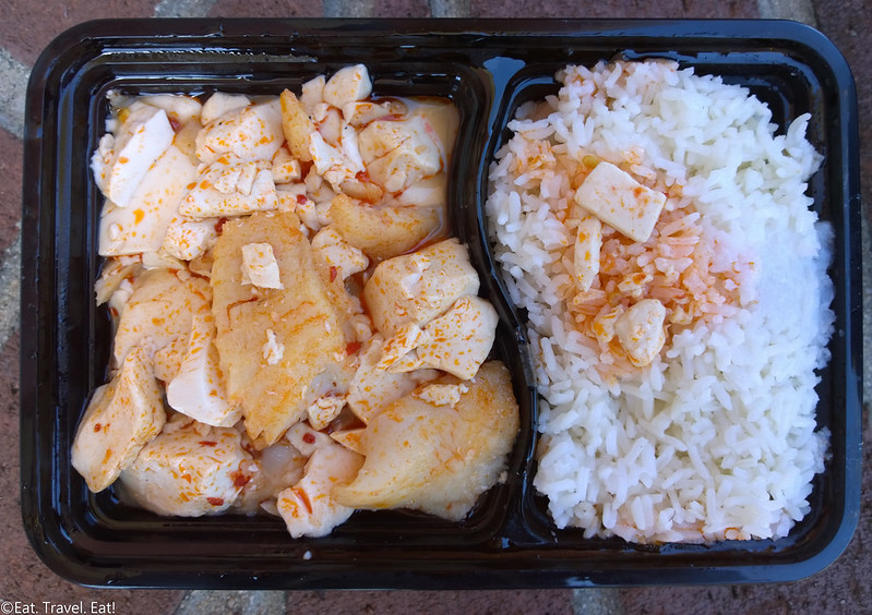 Bamboo Wheel Food Truck- Los Angeles (University Park), CA: Dou Hwa Yu (Spicy Tofu Fish Filet)