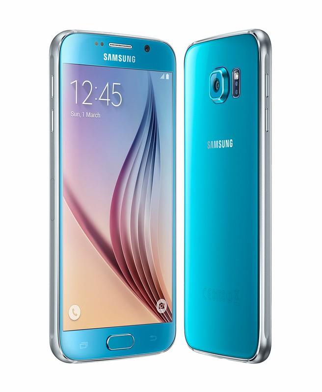Samsung Galaxy S6 4G+ - Blue Topaz