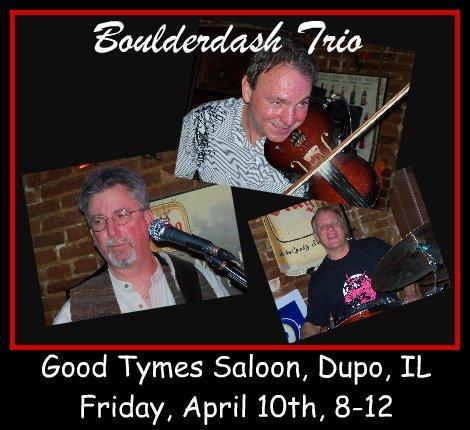 Boulderdash Trio 4-10-15