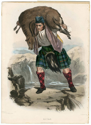 011-Clans_of_the_Scottish_Highlands_1847_Plate_045-The Metropolitan Museum of Art-Thomas J. Watson Library