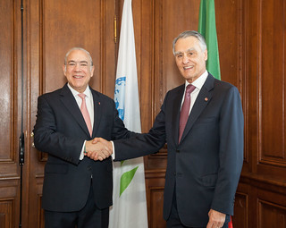 President Aníbal Cavacao Silvia, President of Portugal at the OECD