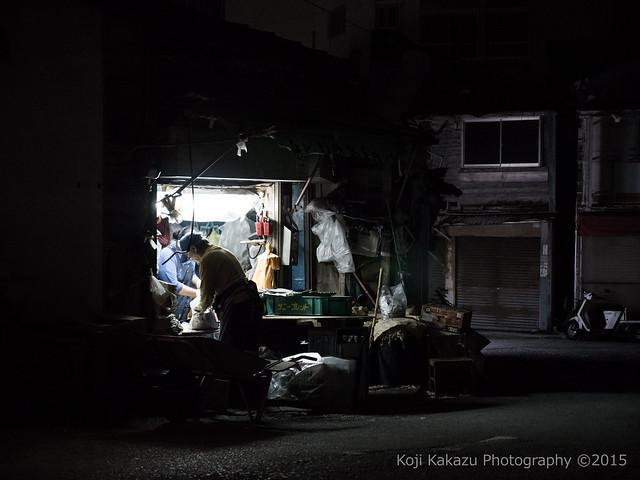 深夜の農連市場 | Naha City, Okinawa