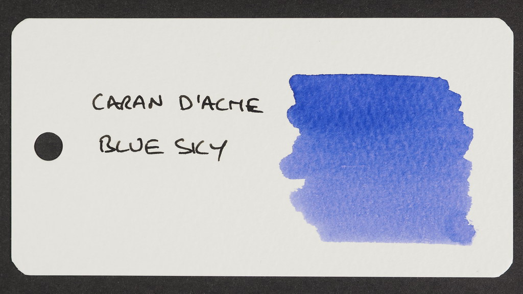 Caran d'Ache Blue Sky Reference