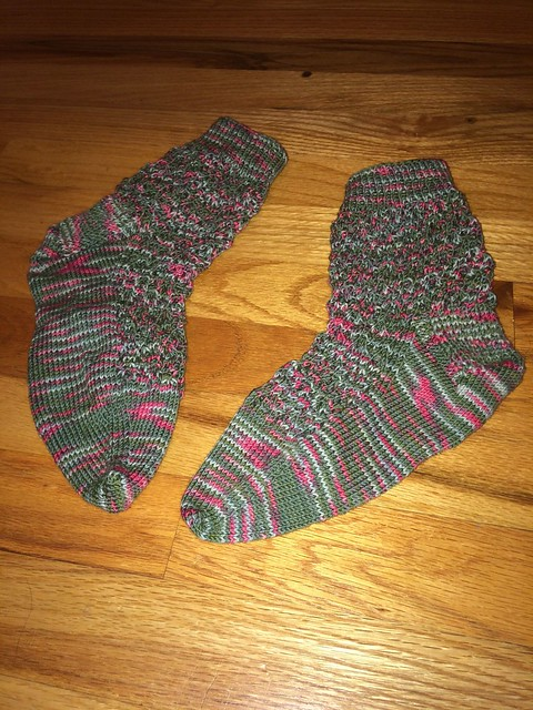 March mystery socks