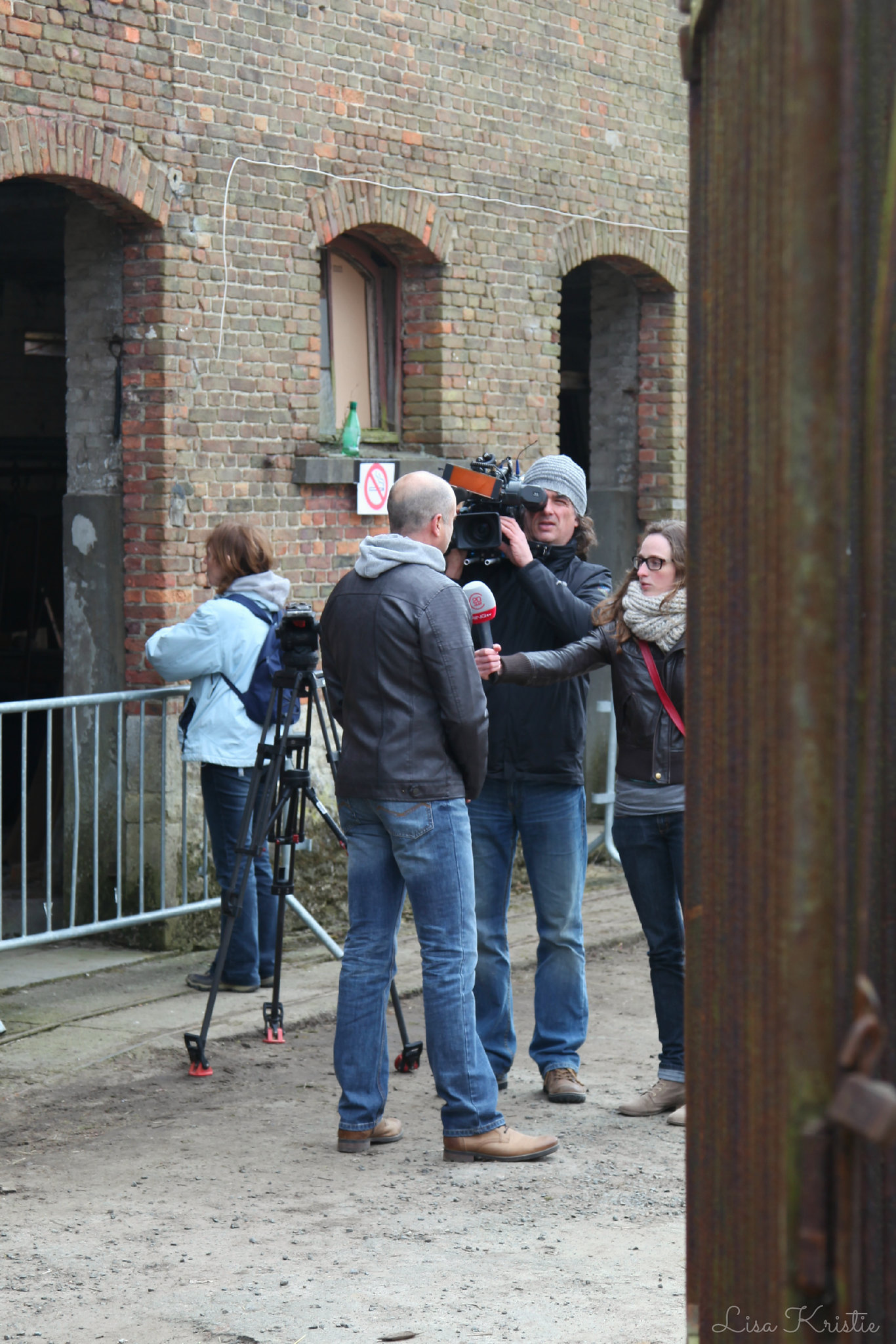 old europe castle estate european belgium belgian property visit private farm tv crew interview