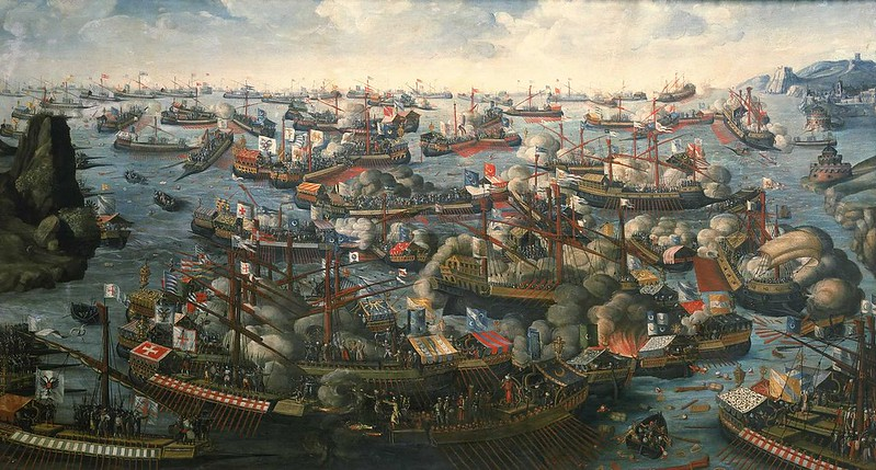 The Battle of Lepanto, by unknown artist