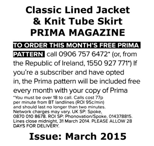 Prima Magazine - Pattern, March 2015 (04)