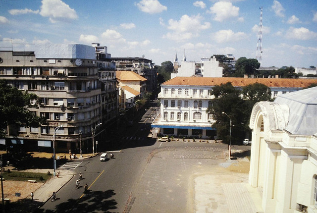 SAIGON 1979 - A view from the Caravelle Hotel