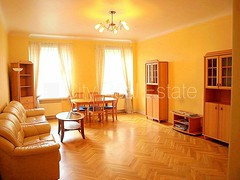 Apartment for rent in Riga, Riga center, Strelnieku street, 106m2, 650.00 EUR / mon.