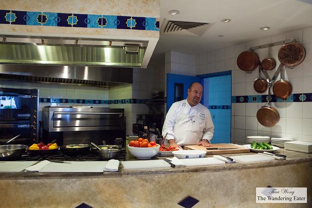 Executive Chef Jasper Schneider of Cuisinart Resort