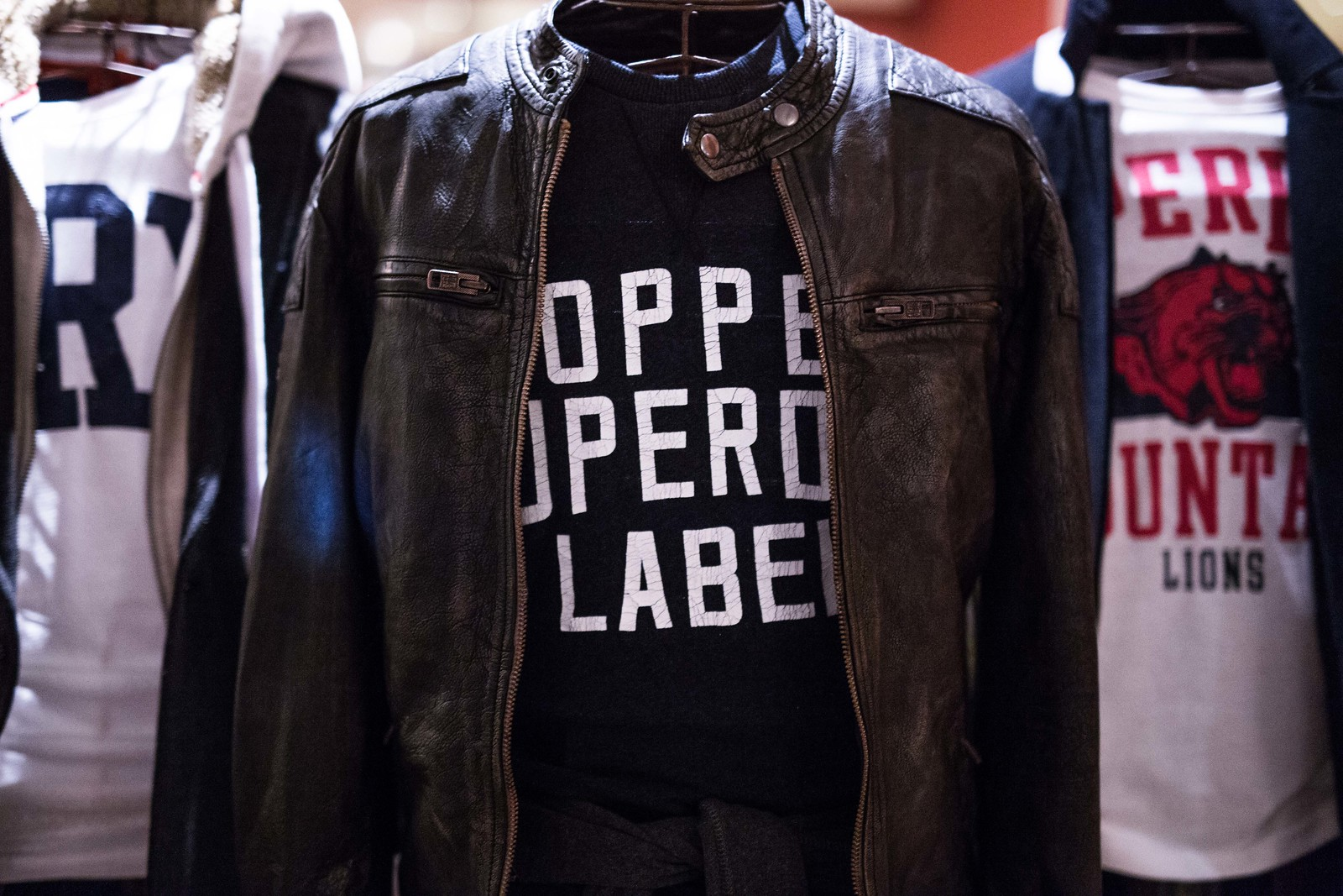 Superdry AW15 Press Day
