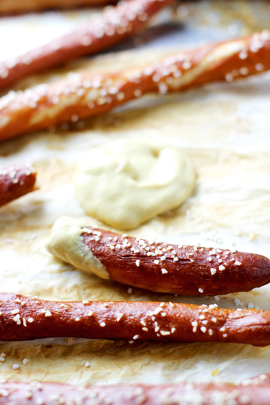 Homemade Hard Pretzel Rods | girlversusdough.com @girlversusdough
