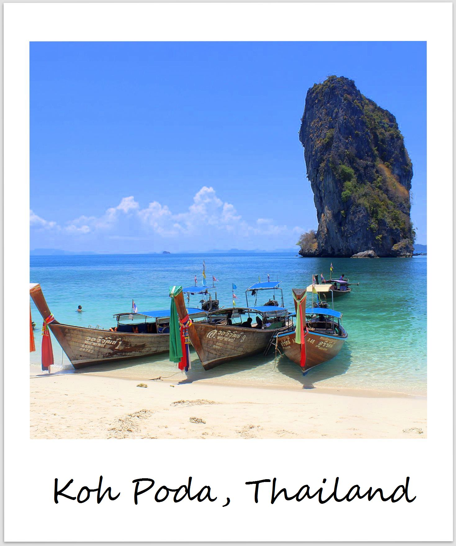 polaroid of the week thailand koh poda