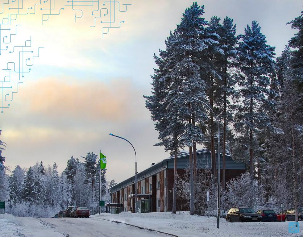 Um dos blocos da faculdade, foto de Kaanu, usuário do Panoramio