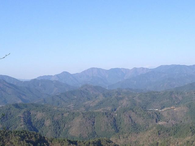 古城山 山頂からの眺望