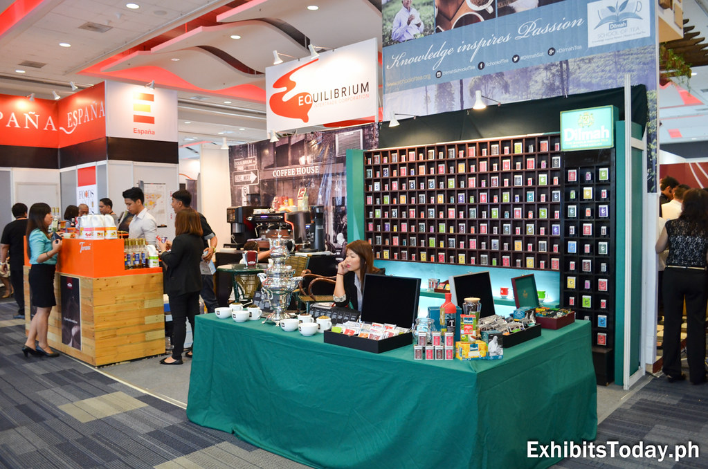 Equilibrium and Dilmah Exhibit Stand