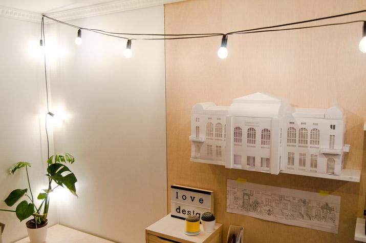 DIY String Lights · DIY guirnalda de luces · Fábrica de Imaginación
