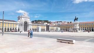 Plaza del Comercio. Lisboa (Portugal).