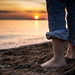 Barefoot on the beach by Dani_Girl
