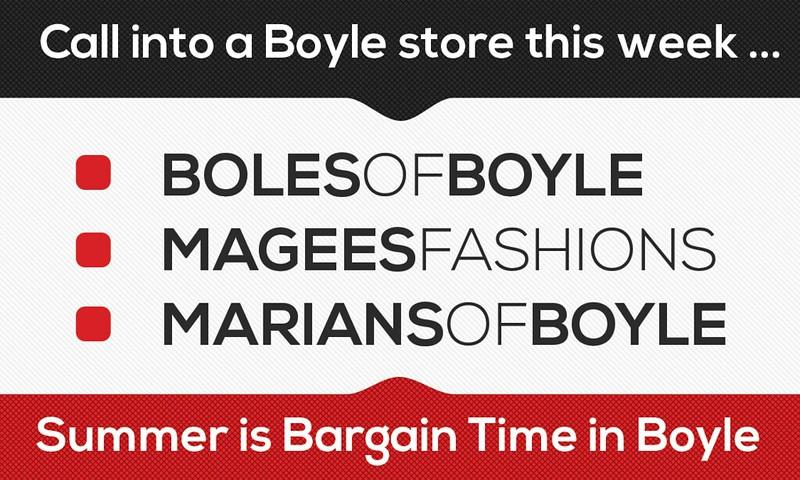 Summer Bargains in Boyle