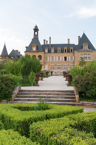 The New Chateau at Domaine d'Essendéras