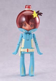『宇宙巡警露露子』有趣變型人偶作品!めたもろいど ルル子
