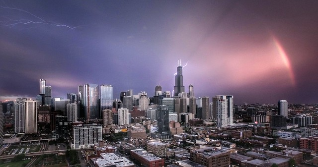 Drone Thunderstorm • Chicago