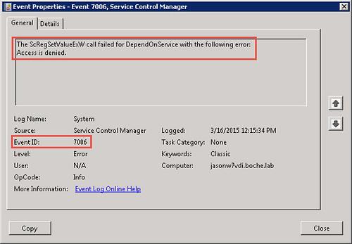 VMware Horizon View Agent 6 1 0 Installation Rollback