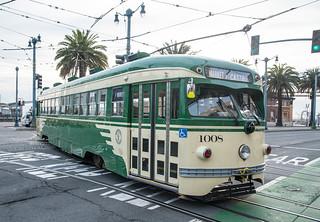 Turning Torpedo Streetcar