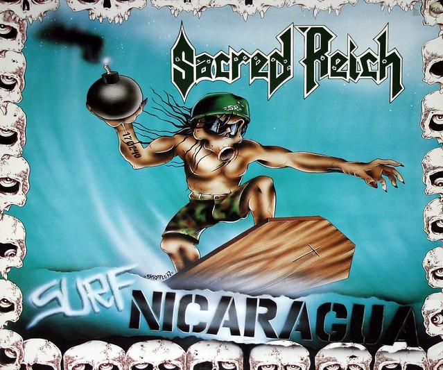 "Sacred Reich Surf Nicaragua 12"" Vinyl EP"