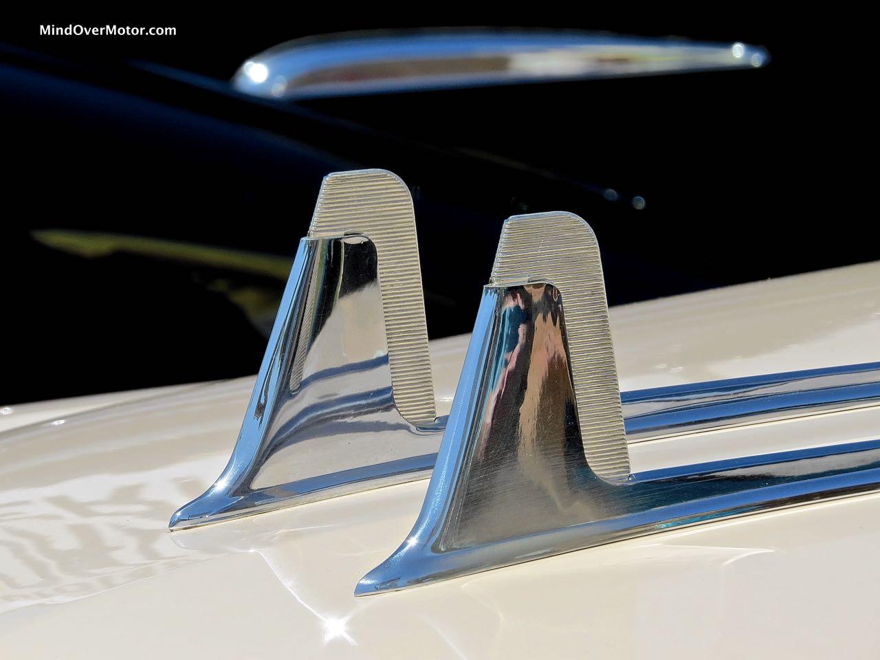 1956 Cadillac Eldorado Hood Ornament Detail