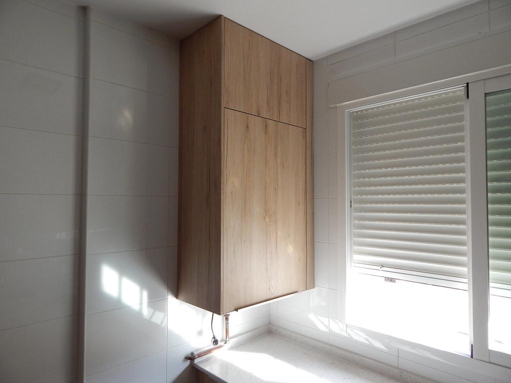 Muebles de cocina roble arena - Armario de plastico para exterior ...