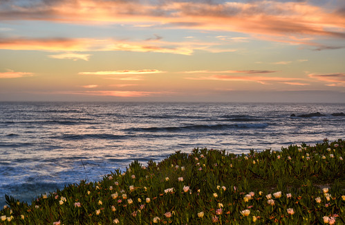 Pacific Spring Sunset by Geoff Livingston