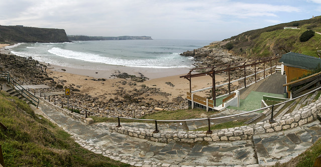 Playa de Los Locos, Suances