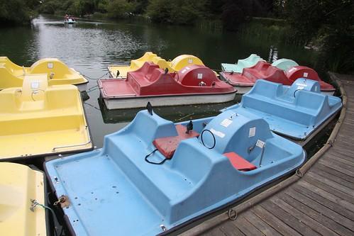 Stow Lake Vintage Paddle Boats