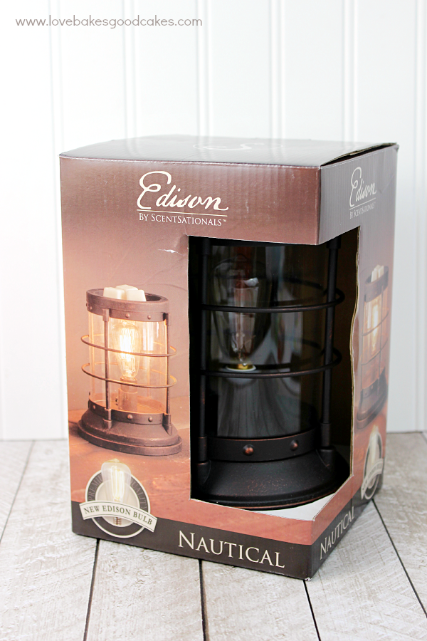 Mother's Day Gift Basket with Edison Warmers#WicklessWonders #Ad