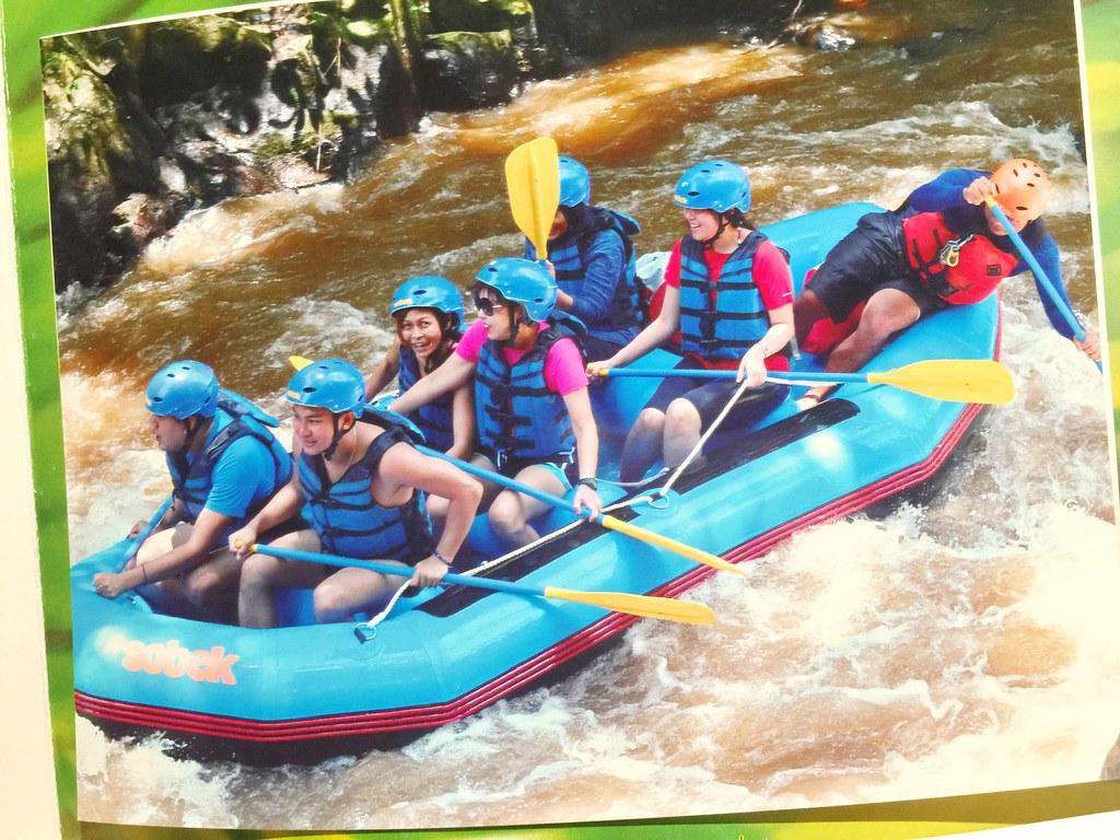 excursion - white water rafting - club med bali