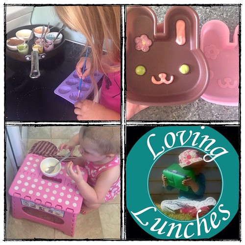 Loving 'help' with our #Easter fun today… chocolate moulds done, now just to stop them melting in this heatwave �� #bunny #kidsinthekitchen #funwithfood #funfood #daisotribe #daiso
