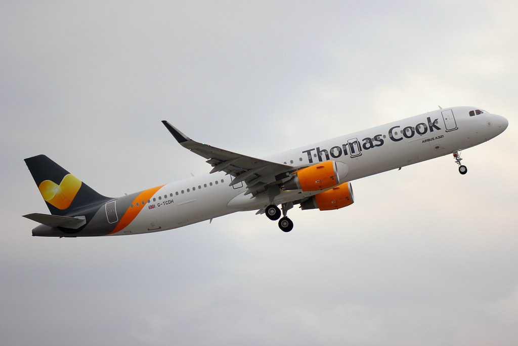 G-TCDH - A321 - Thomas Cook Airlines