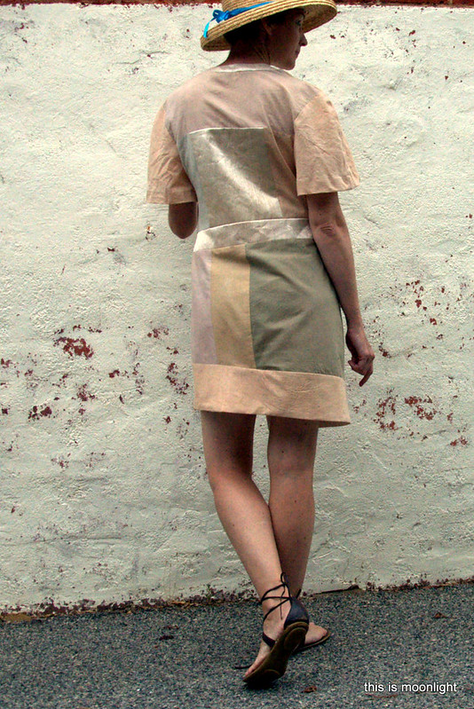 eco dyeing dress