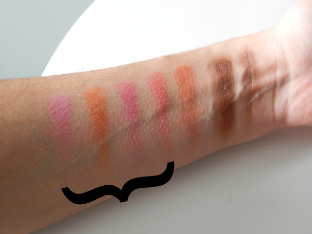 elf Blush Palette in Light, review and swatches